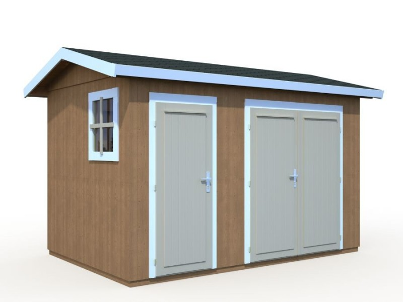 Trastero de madera OLAF 6,6 m2