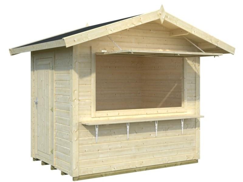 Kiosco de madera STELLA 4,3 m2