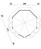 "Caseta octogonal ""VERONICA 4"""