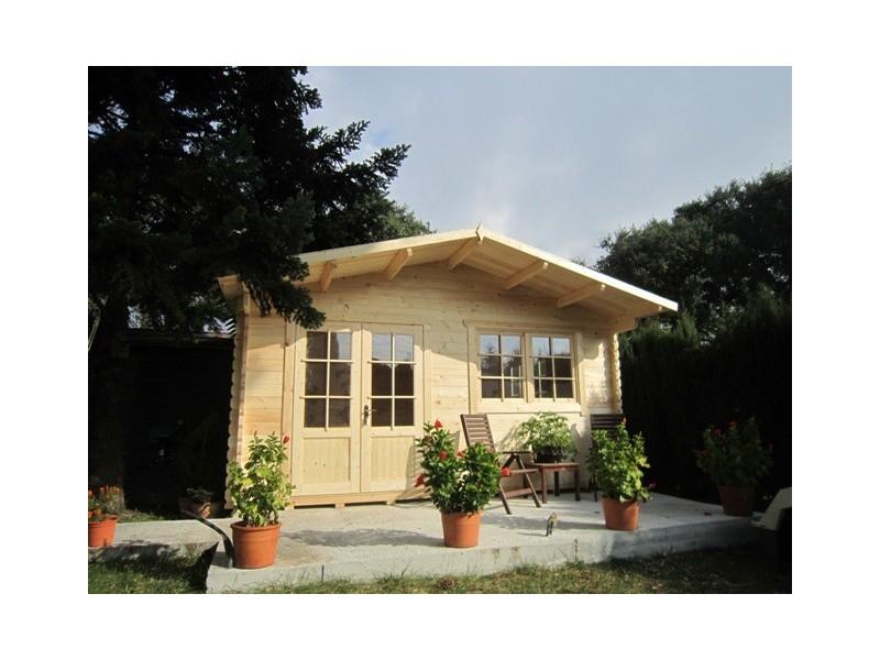 Caseta de madera altea 5x5 - Casetas pvc jardin ...
