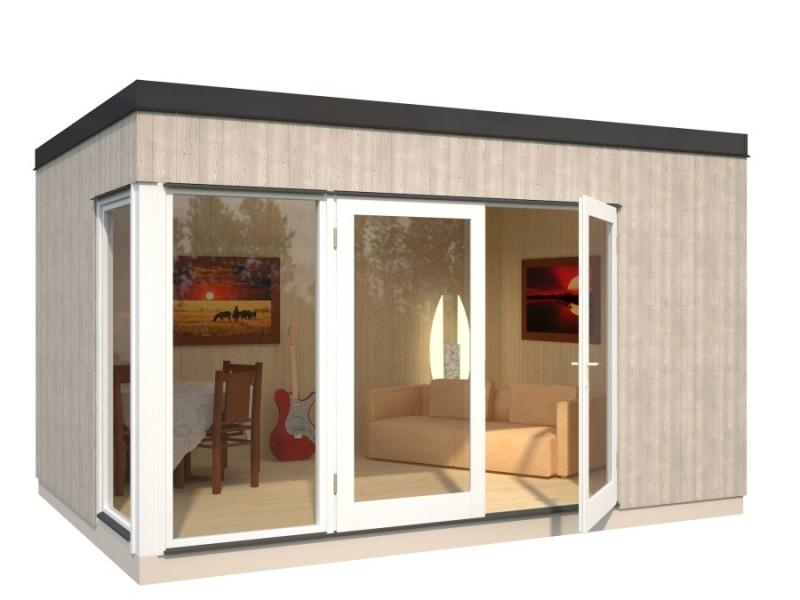 Casetas de jard n solveig 13 8 - Casetas de madera para terraza ...