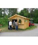 """Kiosko de madera """"EUROCASETAS"""""""