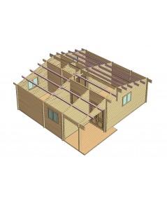 Casa de madera CAMP HOUSE1