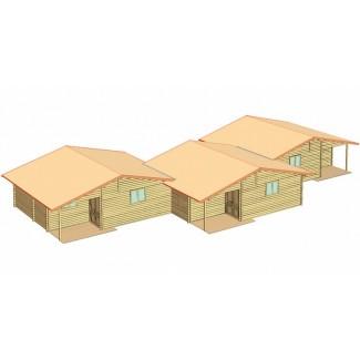 """Casa de fusta """"MALLORCA PLUS"""""""