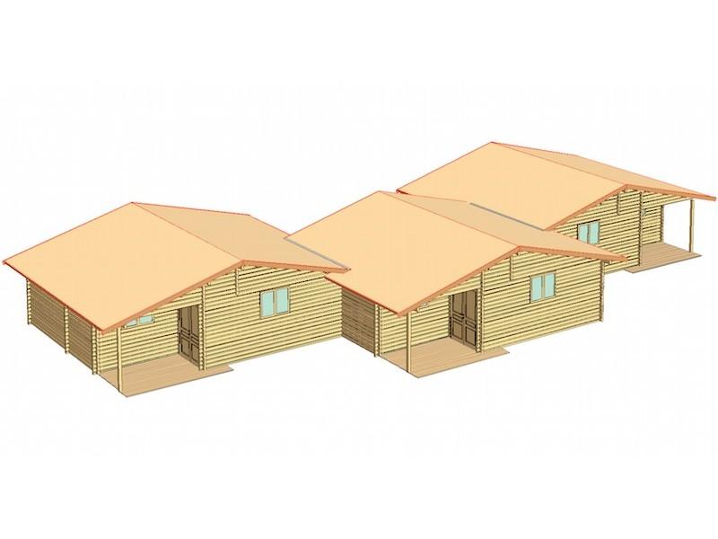 Casa de madera CAMP HOUSE 3