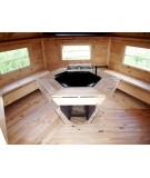 "Caseta de madera ""Grill Cabin 9.2"""