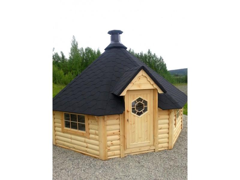 "Caseta de madera ""Grill Cabin 16.5 """