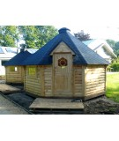 """Caseta de madera """"Grill Cabin 16.5 PLUS 9.2 """""""