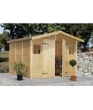 Trastero de madera DAN 7,7 m2