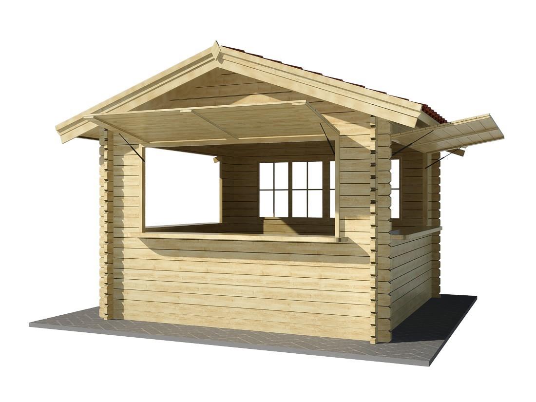 Cancelas de madera puertas de entrada modernas de madera for Kioscos de madera baratos
