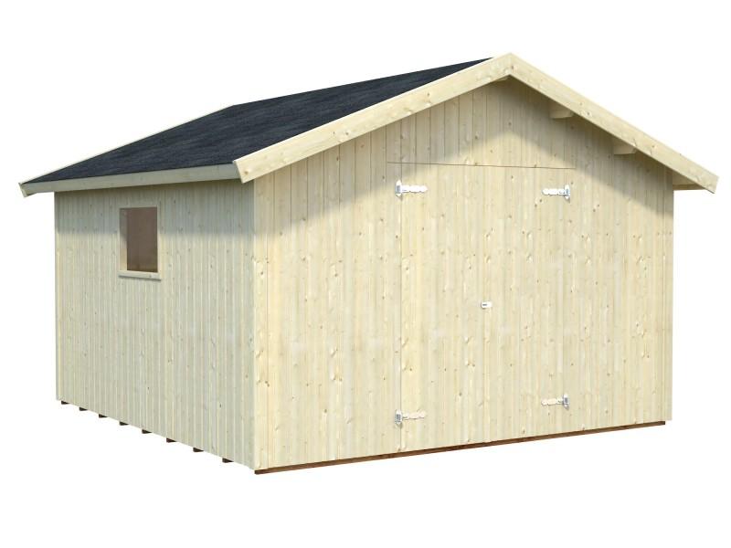 Trasteros de madera nils 12 1 m2 for Casetas de metal jardin baratas