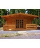 """Casa de madera """"HAMER"""" - 44mm"""