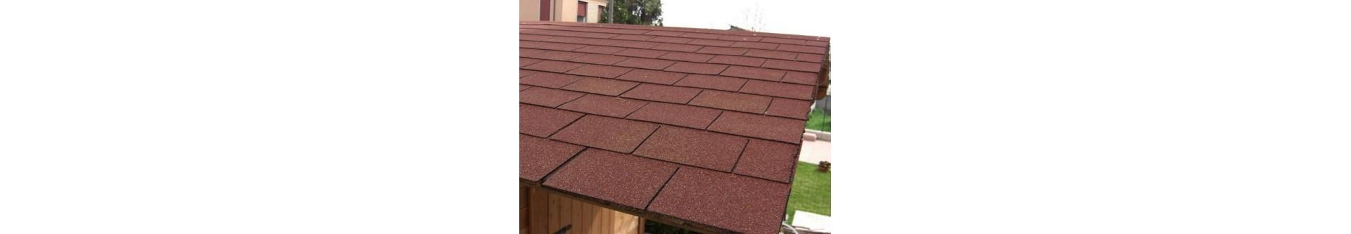 Placa asfaltica para tejados materiales de construcci n - Material para tejados ...