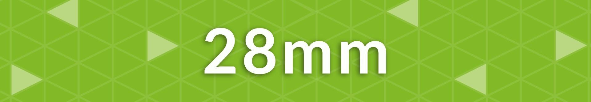 Gruix 28 mm