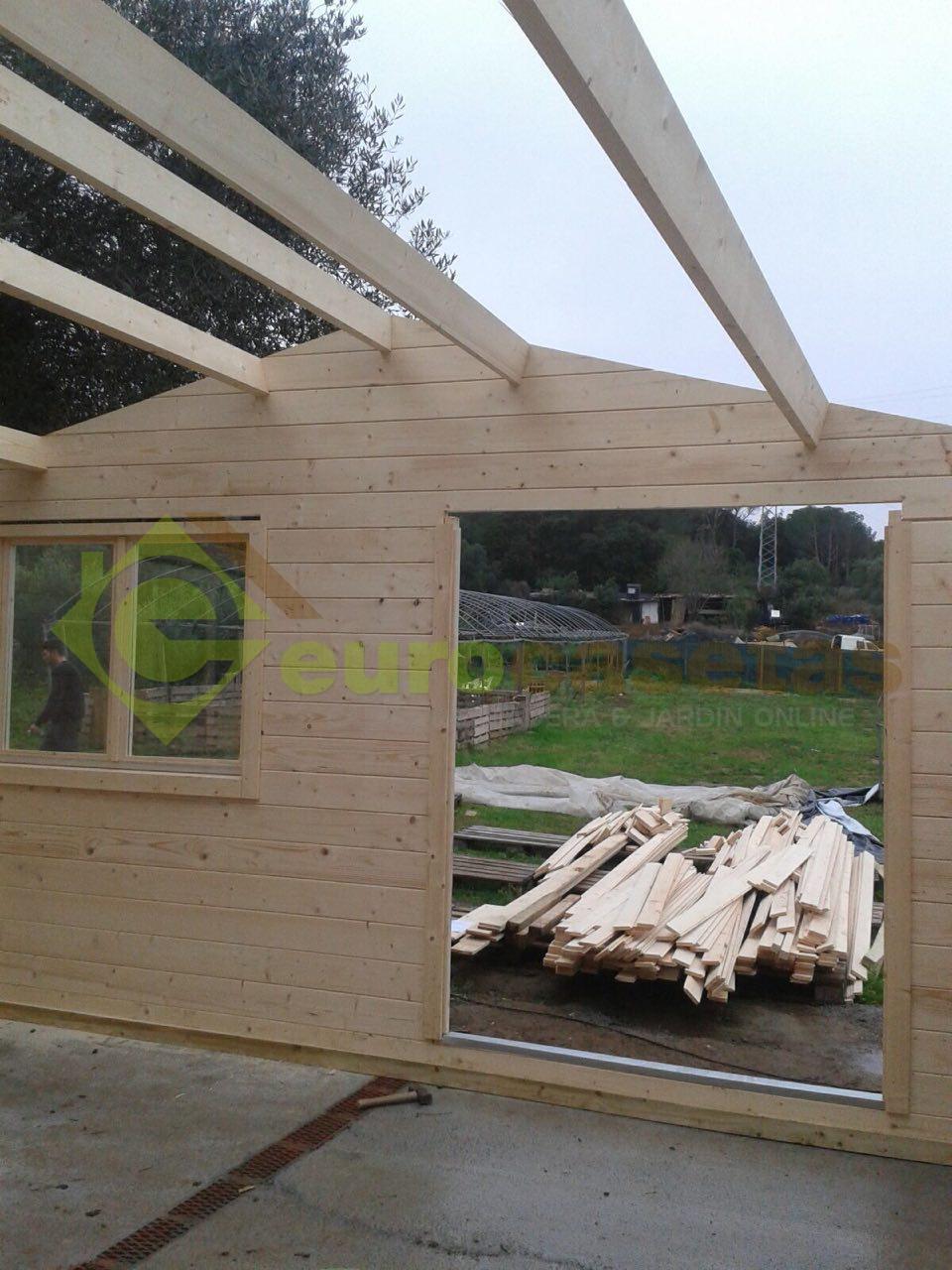 Caseta de madera ALTEA 5X5