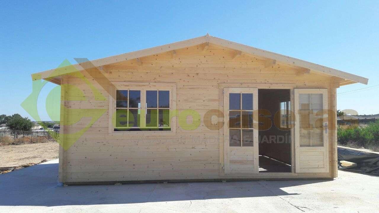 Montaje caseta de jard n altea 6x5 en cadiz eurocasetas - Casas de madera cadiz ...