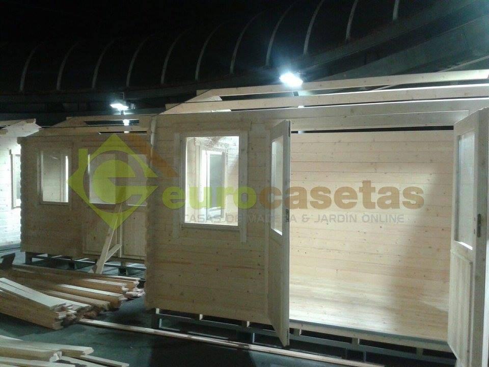 Montaje casetas de madera