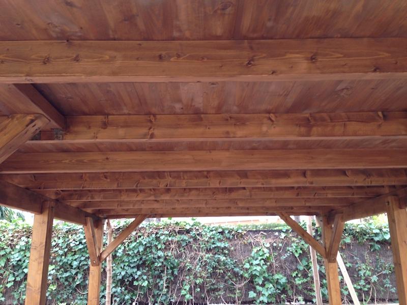 Carpot de madera KARL 11,7 m2