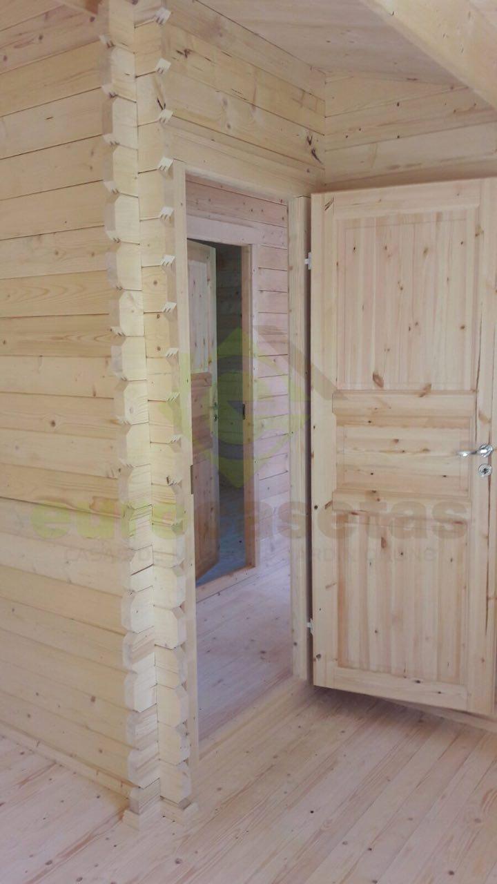 Montaje casa de madera mallorca en portugal - Casas madera portugal ...