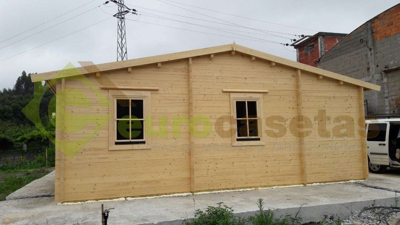 Montaje casa rado en portugal eurocasetas casas de - Montaje casa de madera ...