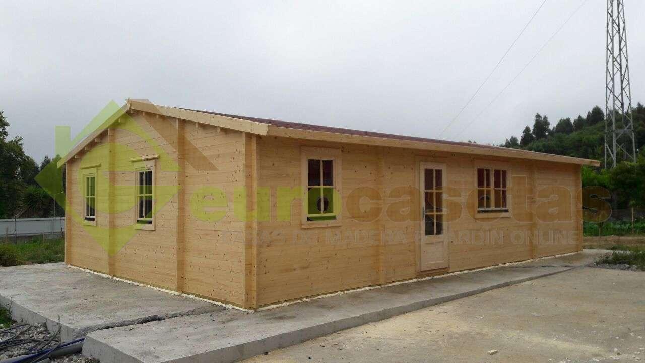 Montaje casa rado en portugal eurocasetas casas de - Casas de madera en portugal ...