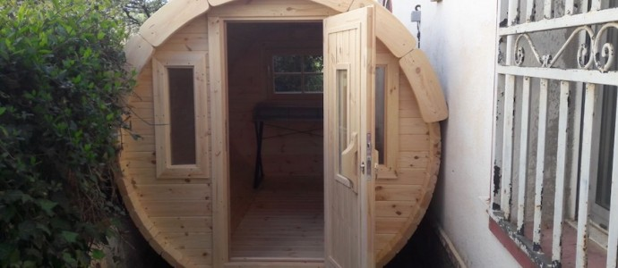 Montaje Caseta Camping Barril 3.0