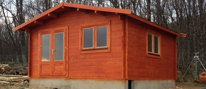 Montaje caseta de madera