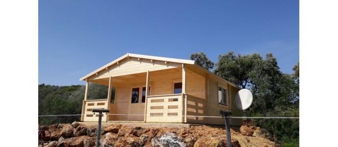 Casetas de jard n y casas de madera garajes caba as y - Casas de madera en portugal ...