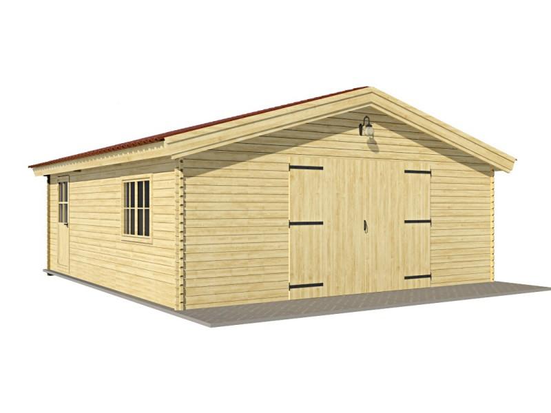"""Garatge de fusta """"FR 3"""" - 44mm"""