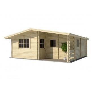 "Casa de madera ""TWINSKIN"""