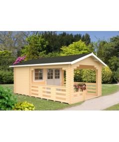 "Caseta de jardín ""SYLVI 6.1+10.6 m2"""