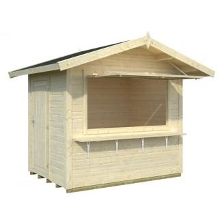 "Kiosko de madera ""KITTY"""