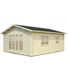 """Casa de madera  """"IRENE 19 m2 """""""