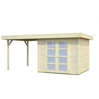 Caseta de jardín  LARA 6 m2 + 5,9 m2