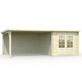Caseta de jardín  ELLA 6,9 + 10  m2