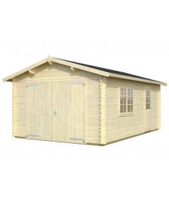 """Garaje de madera """"3"""""""