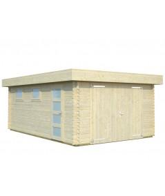 "Garaje de madera ""NOVEL"""