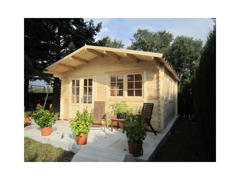 Caseta  de  jardin  ALTEA 5X5 , 25 m2 , 44 mm