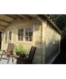 Caseta de jardín  ALTEA 6X5 , 30 m2 , 44 mm