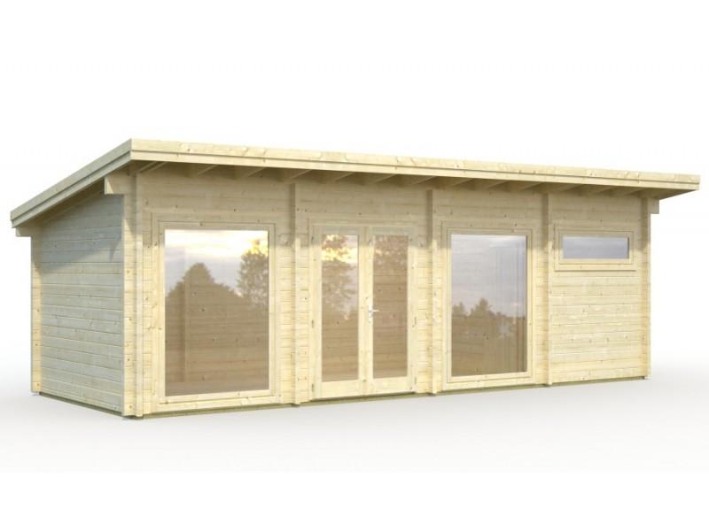 "Casa de madera ""HEIDI 22,8  m2"""