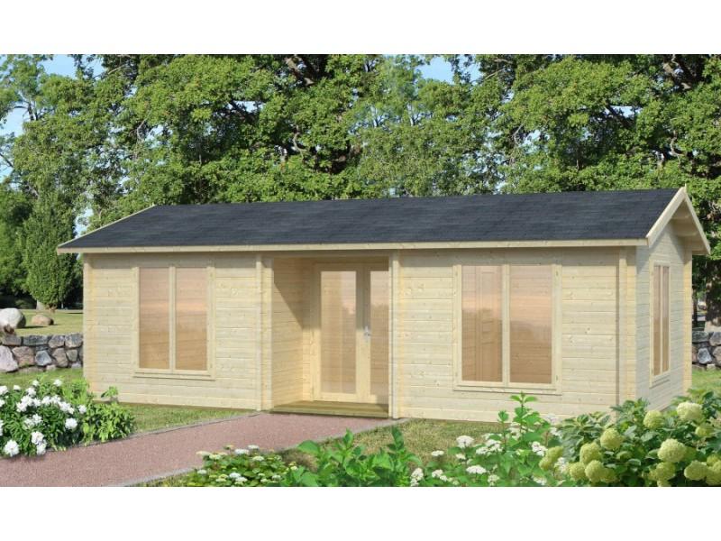 Casa de madera ANNA 28,8 + 1,9 m2