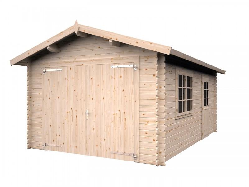 "Garaje de madera ""RONI"""