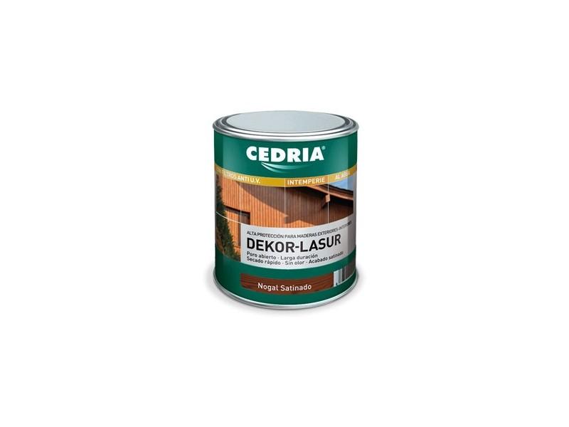 CEDRIA DECOR LASUR , BOTE 4 L