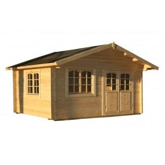 Caseta de jardín  MIRANDA  6X5