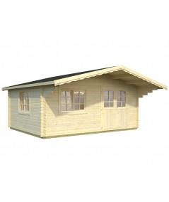 Caseta de jardín  OSLO  4x5 con Gran Voladizo