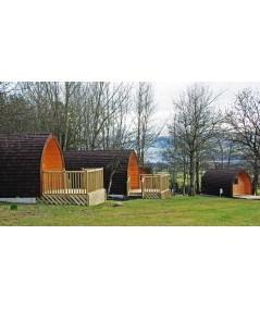 Camping Pod 2,4 x 3,0  LUXURY