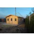 """Casa de madera """"DANI"""" - 44mm"""