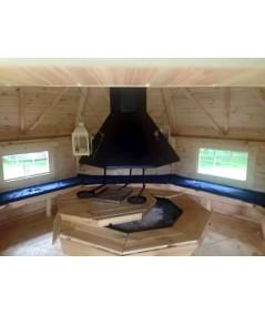 "Caseta de madera ""Grill Cabin 14.9"""