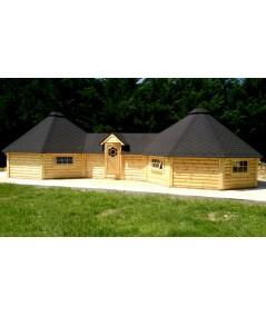 """Caseta de madera """"Grill Cabin 16.5 TWIN """""""