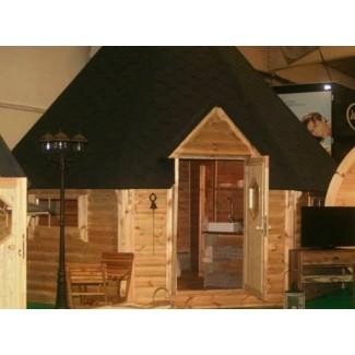 "Caseta de madera ""Grill Cabin 25 """